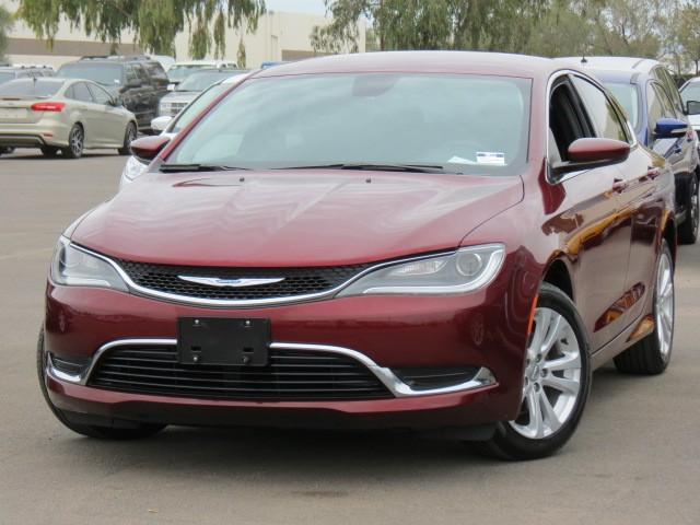 used 2015 chrysler 200 limited for sale stock 70553 chapman dodge chrysler jeep ram. Black Bedroom Furniture Sets. Home Design Ideas