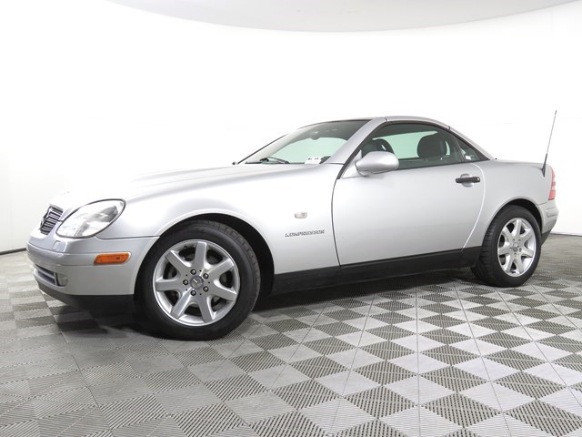 used 1999 Mercedes-Benz SLK-Class car, priced at $9,977