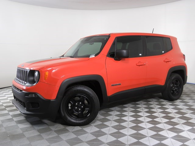 used 2017 Jeep Renegade car, priced at $16,951