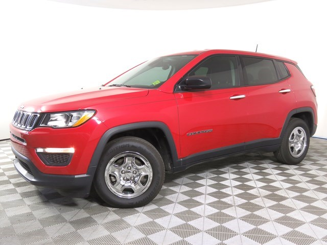 used 2018 Jeep Compass car, priced at $19,571