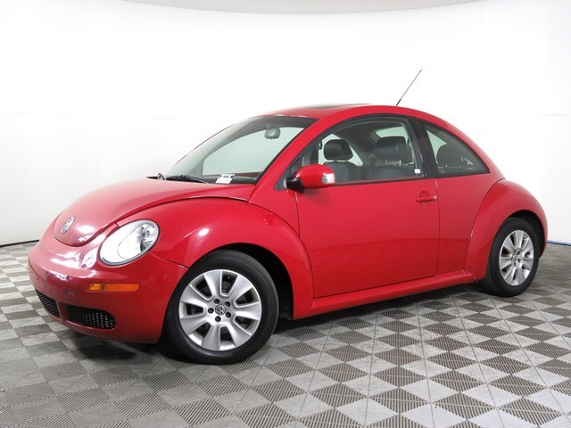 used 2009 Volkswagen New Beetle car, priced at $6,999
