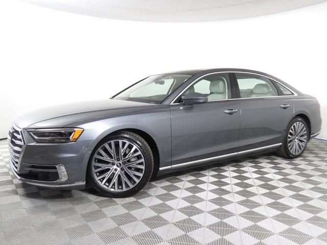 new 2021 Audi A8 L car, priced at $99,045