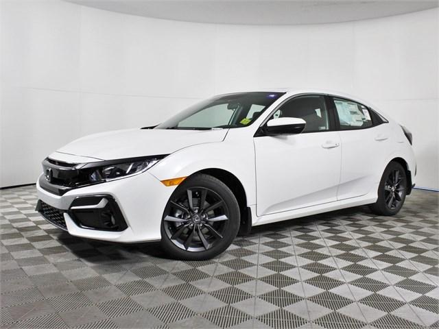 new 2021 Honda Civic Hatchback car, priced at $25,850